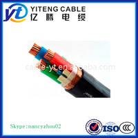 XLPE Insulted Copper Conductor YJV 0.6/1kv Power Cable