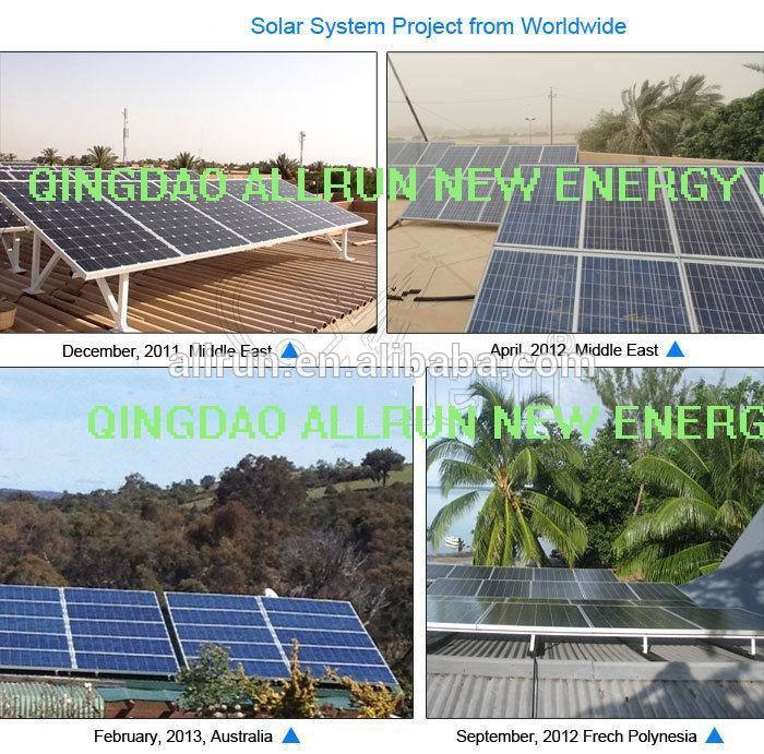 whole unit long warranty off grid home solar system 5kw