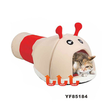 New Soft Plush Small Heat Pet Play House Cat Tunnel