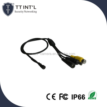 External Voice Microphone for IP AHD TVI CVI CVBS Cameras
