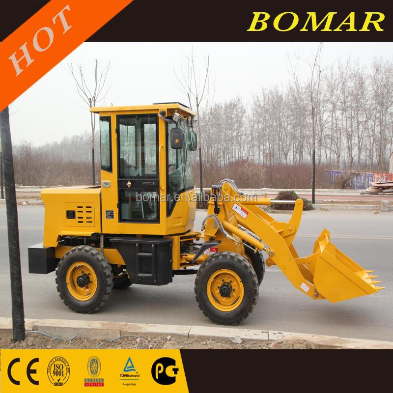 0.8t 800kg Mini Articulated Wheel Loader Small Front End Wheel Loader ZL08F For Sale