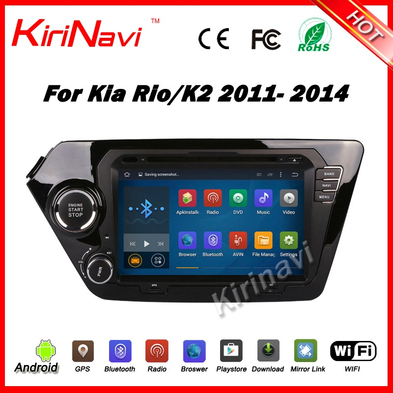 Kirinavi WC-KU8044 android 5.1 touch screen car multimedia gps for kia k2 2011-2014 car dvd player navigation stereo 3G WIFI BT