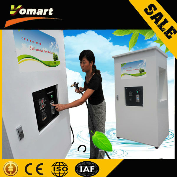 Auotmatic Coin/card operated car wash self-service station/self service automatic truck wash