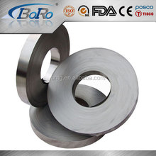 AISI 321 BA/2B stainless steel coil/roll/strip with interleaving paper pvc film