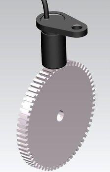 Hall Effect Gear Tooth Sensor Cygts104u For Large Gear