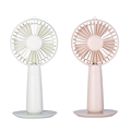 with mirror custom logo rechargeable small table fan