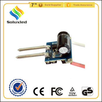 12v dc input led driver for mr16 lamp 1-3w