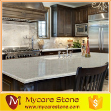 High quality beautiful island quartz stone kitchen countertop sale
