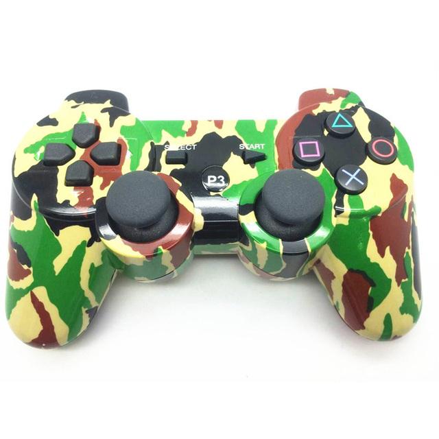 Camouflage Color Wireless Gaming Controller High Quality Game Pad Vibration Joystick Gaming Handle for Gamer NGD0854