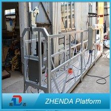 2017 New Type Ce Approved Zlp630 Window Cleaning Suspended Platform For Sale Zlp Construction