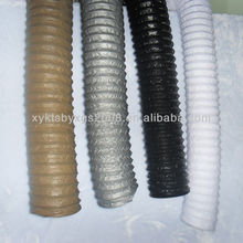 high elasticity pvc coated steel wire flexible duct hose hvac system