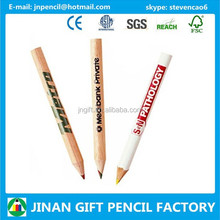 Round/hexagonal Personalized Logo Imprinted Golf Pencils