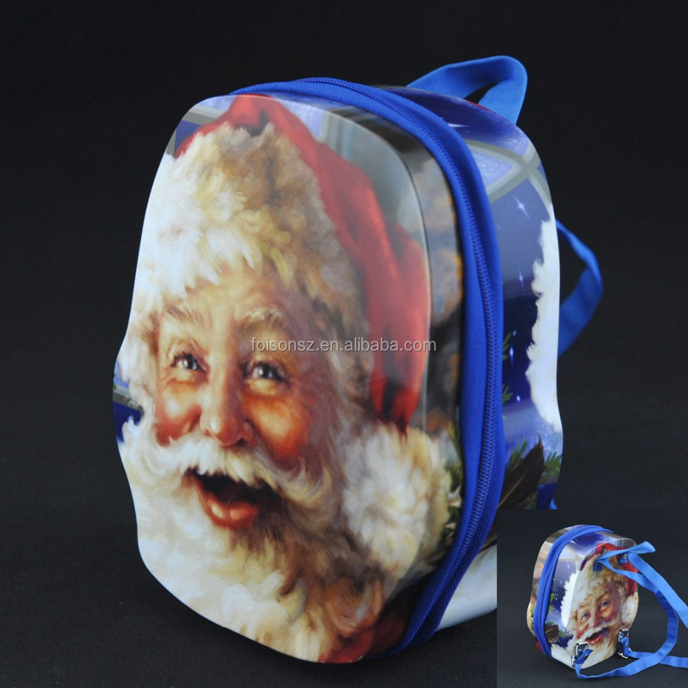 manufacturer Santa Claus design OEM promotional metal candy tin container