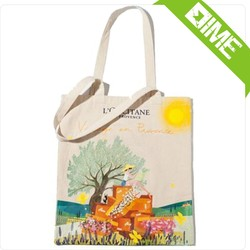 Whosales For Promotion Sturdy Daily Carry All Canvas Tote bag