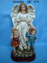 polyresin angel figurine