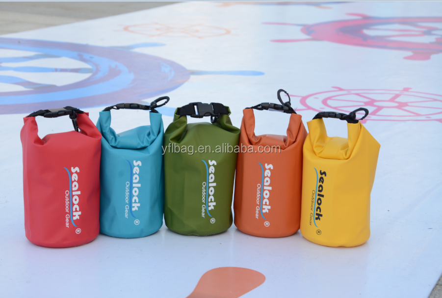 20L yellow pvc waterproof dry bag tube dry bag