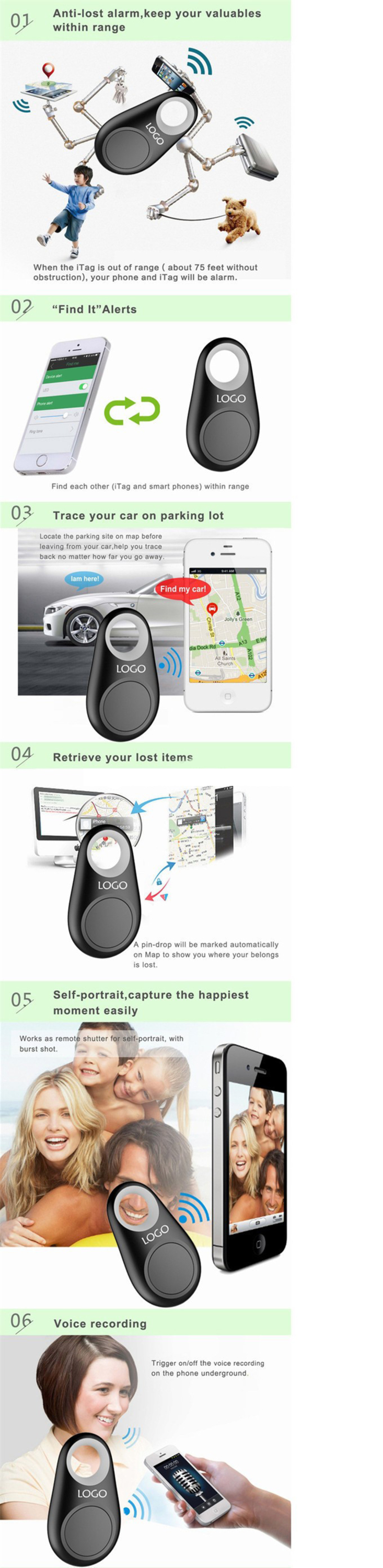 2018 new products Bluetooth tracker Bluetooth key finder for purse key finder wholesale