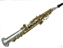 Afanti High Grade MaYin one tube soprano Brass Sax(AFS-YT808S)