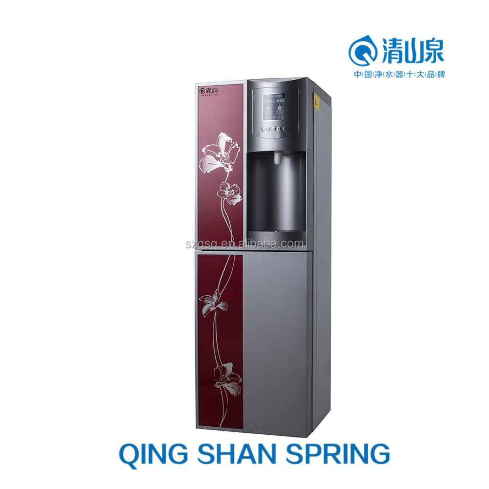 hot and cold water dispenser which can add RO or UF system plant price