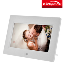 "7"" / 10' / 12"" / 15"" TFT LCD Digital Photo Frame with Alarm Clock + Remote"