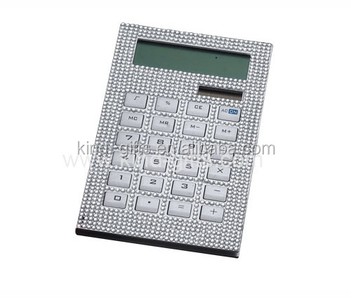 High-end mini calculator rhinestone calculator for white-collar employees