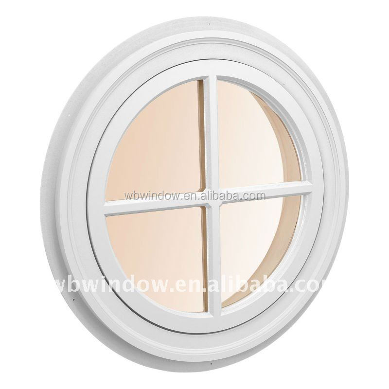 Latest design Round window that opening pvc polygon window for sale