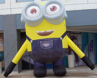 Large inflatable despicable minion, inflatable minion cartoon