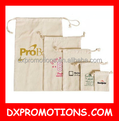 OEM cotton drawstring bag/canvas drawstring bag/promotional drawstring bag