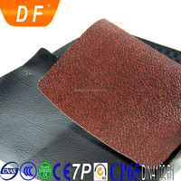 Grain deep non-toxic stiffer no stretch pvc leather for loudspeaker