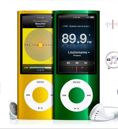 2016 free download videos 8GB MP4 player