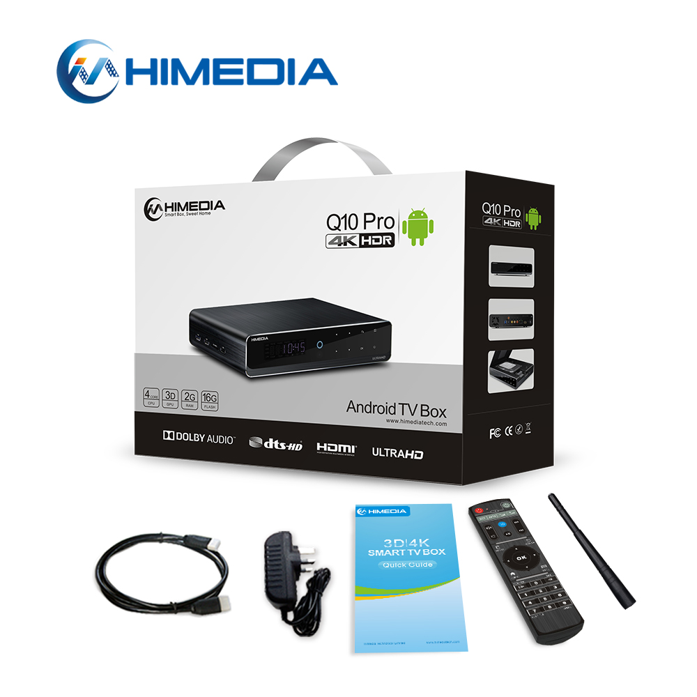 2017 Hottest Quad Core Google Android 57.0 Smart TV Box, Android TV Box Himedia <strong>Q10</strong> Pro