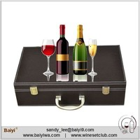 High Quality Red Wine Wooden Box