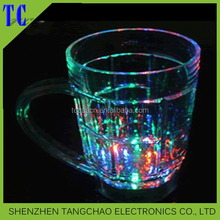 Branded promotional light flashing LED glass fpr party decoration