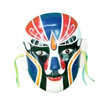 288Pcs New Ceramic Chinese Folk Collection Beijing Opera Mask Painted Face