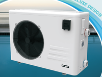 High efficiency heat pump swimming pool heater