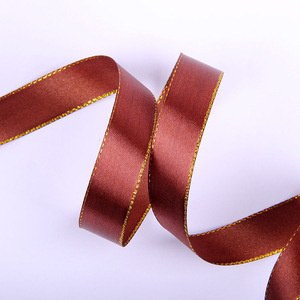 High Quality Cheap Price Single Face Polyester Ribbon Satin Soild Color Ribbon for Gift
