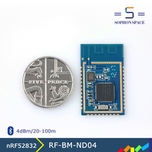 new products supporting bluetooth5 wireless module nRF52832 chip RF-BM-ND04 nordic bluetooth module