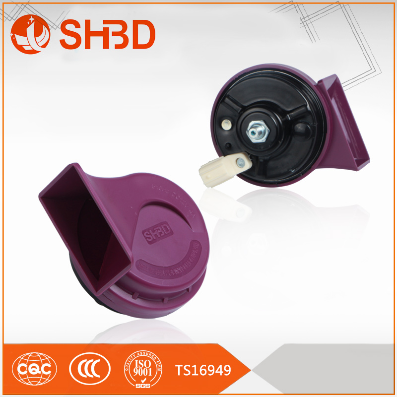SHBD motorcycle alarm with remote start power car horn for Honda