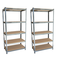 Factory price home use slotted angle iron shelving storage system