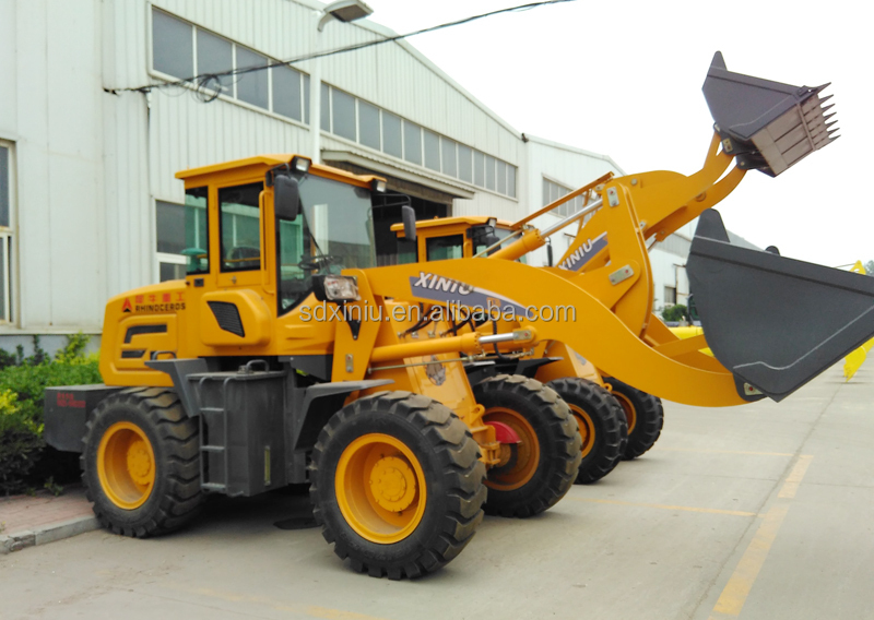 earth moving equipment Construction machinery 1T 2T 3T wheel loader