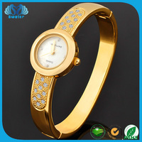 2016 Hot Sale Women Gold Bangle Watch For Small Wrist