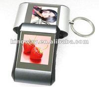 cute 1.5 inch digital photo frame keyring