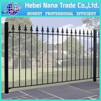High quality steel or aluminium decorative dog fences