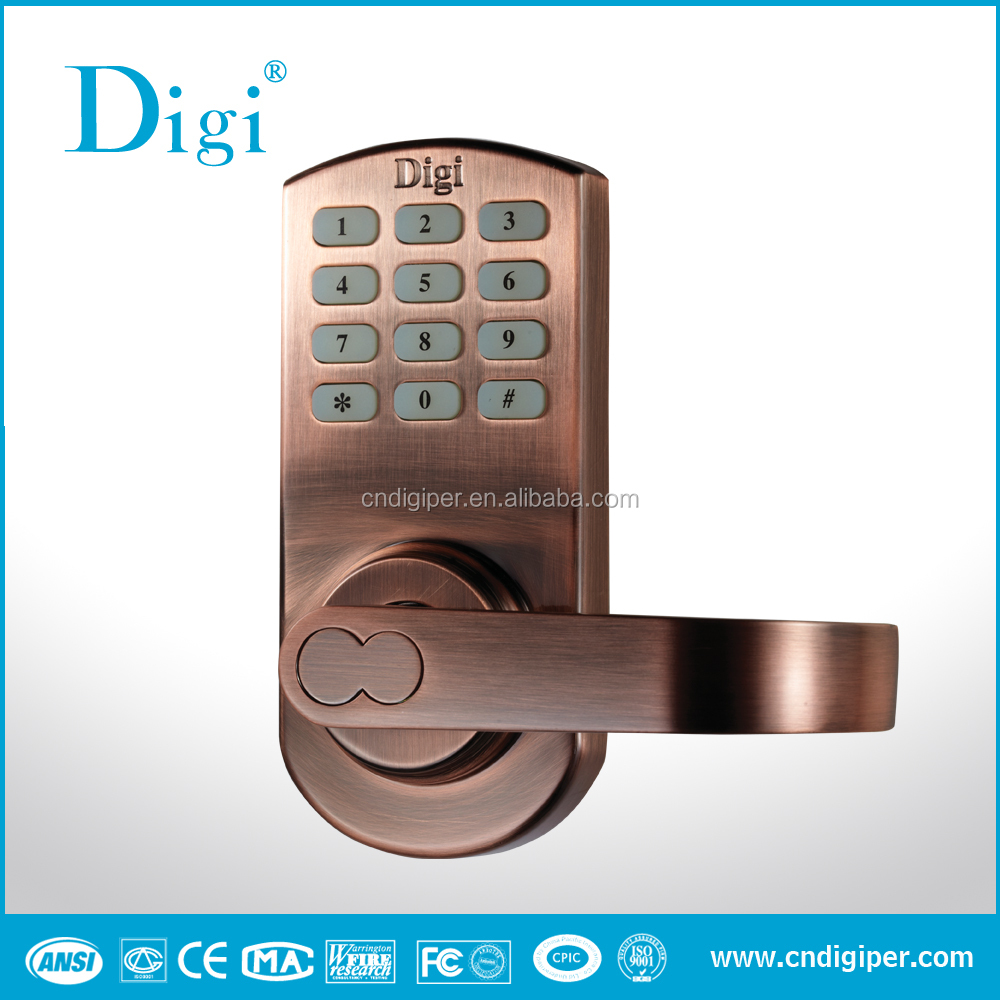 ANSI latest keypad lock; electronic code door lock; home digital door lock