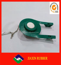 Upc rubber toilet flapper with adjustable stainless steel chain