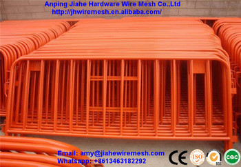 Powder Coated Frame Finishing and Nature Pressure Treated metal Type temporary pool fence