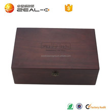 Professsional Design 2015 China Wholesale Essential Oil Wooden Box with Logo Printed