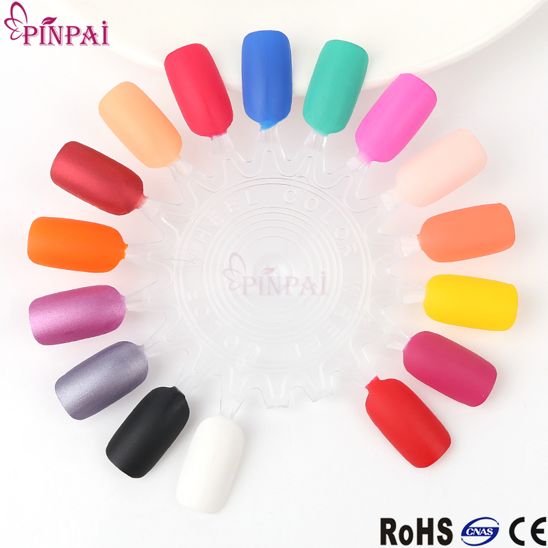 Pinpai Brand Fashion Beautiful Nail Polish Color 15 Colors Matte ...