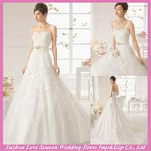 WD9219 New design ethereal germany wedding dress with great price