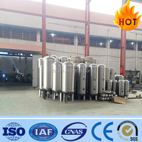 stainless steel pressure tank(10bar 16bar) for water pretreatment, air tank shampoo storage tank